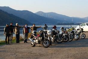 琵琶湖の畔でone shot