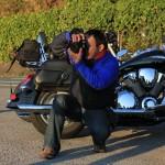 カメラマン横山君。VTXが似合うオトコなのだ。